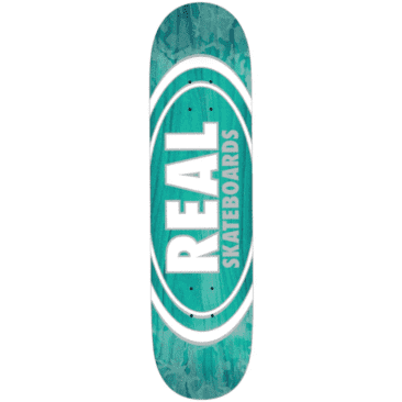 Real Skateboards -Oval Pearl Patterns Team Series - 8.06""
