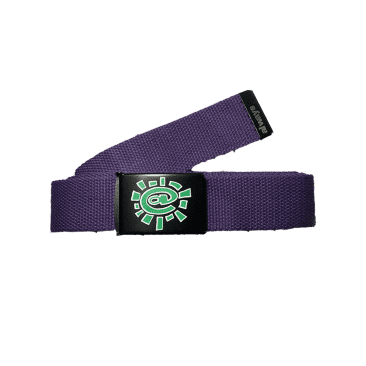 always do what you should do - purple silk screen belt