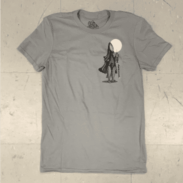 Darkroom Skateboards Science Lizard Grey T-Shirt