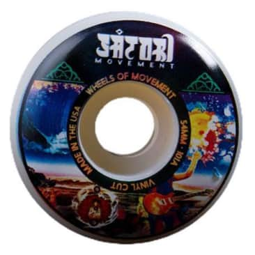Satori Vinyl Series Wheels 101A Psychedelic 54mm