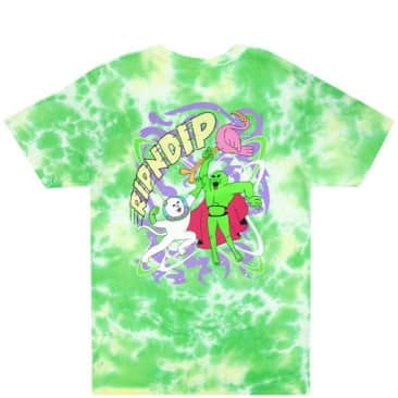 Ripndip Astronomic T-Shirt - Green Lightning Wash