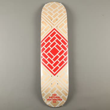 """National 'Classic Red' 7.75"""" Deck"""