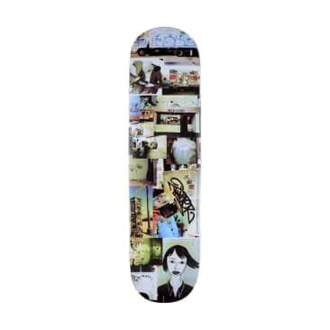 GX1000 Graffiti Document 4 Skateboard Deck - 8.25""