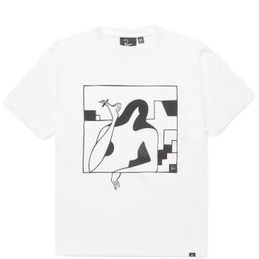 by Parra Lockdown Short Sleeve T-Shirt - White