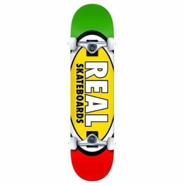 "Real Skateboards Team Edition Oval Complete Skateboard 8.25"""