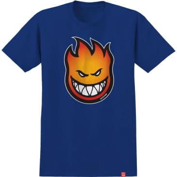 Spitfire S/S Bighead Fade Fill Youth T-Shirt (Royal)