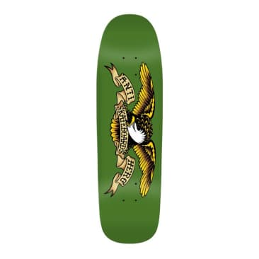 "Anti-Hero Green Giant 9.56"" Shaped Deck"