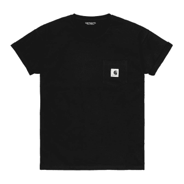 Carhartt WIP Women's Pocket T-Shirt - Black