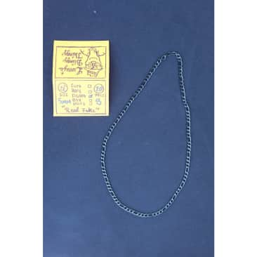 Figaro Necklace 22 inch 5 mm - Black