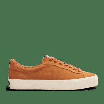 Last Resort AB VM002 Suede Lo Skate Shoes - Cheddar / White