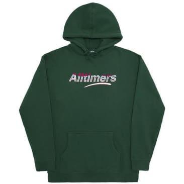Alltimers Embroidered Wave Estate Hoodie - Dark Green