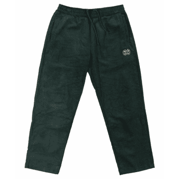 KROOKED EYES CORDOURY PANTS - GREEN