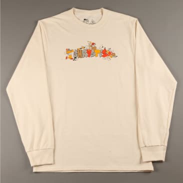 Chrystie 'NYC Workers' Longsleeve T-Shirt (Natural)