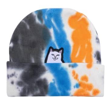 Ripndip Lord Nermal Beanie - Blue / Orange Tie Dye