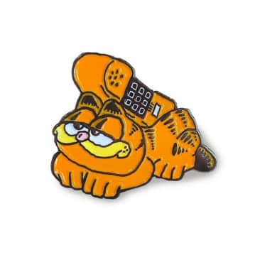 Mondays Garfield Lapel Pin
