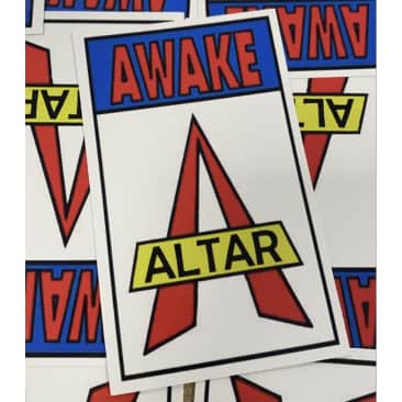 Altar Awake Stickers x 3