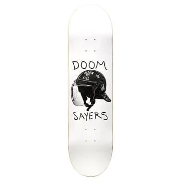 "Doom Sayers - Riot Helmet (White) 8.25"""