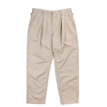 Engineered Garments Ground Pant Highcount Twill - Khaki