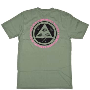 Welcome Skateboards Latin Talisman T-Shirt - Sage