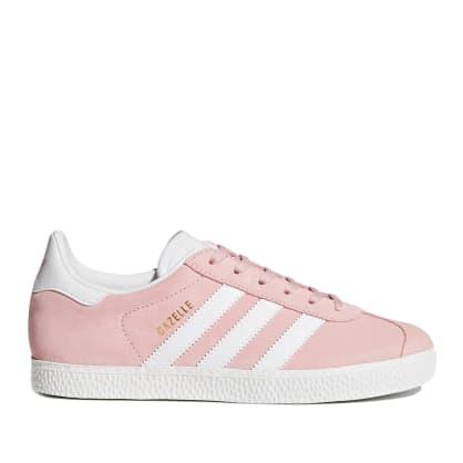 adidas Gazelle Junior Shoes - Icey Pink / Cloud White / Gold Metallic