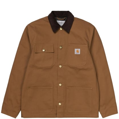 Carhartt WIP Michigan Chore Jacket Hamilton Brown