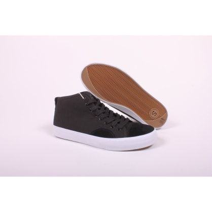 State Harlem Up Town Black/White Canvas Suede