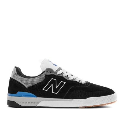 New Balance Numeric 913 Shoes - Black / Blue