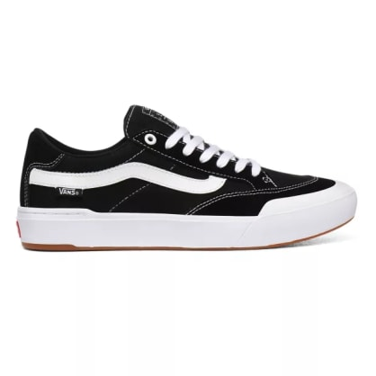 Vans Berle Pro Skate Shoes - Black / True White