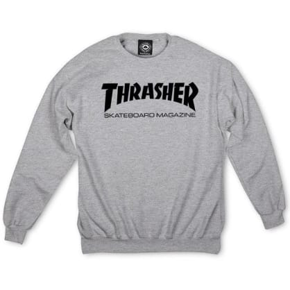 Thrasher - Skate Mag Sweatshirt Grey Medium