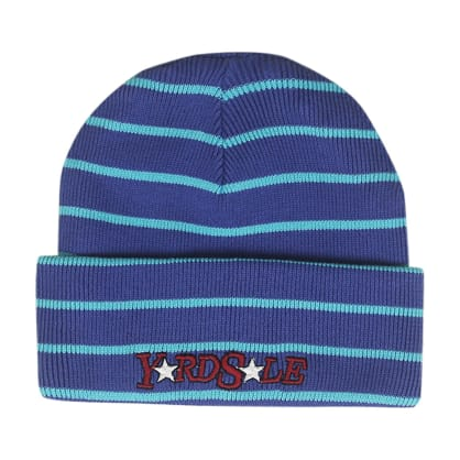 Yardsale Magic Stripe Beanie - Purple / Blue