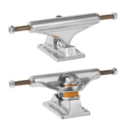 Independent - 139 Stage 11 Silver Polished Trucks