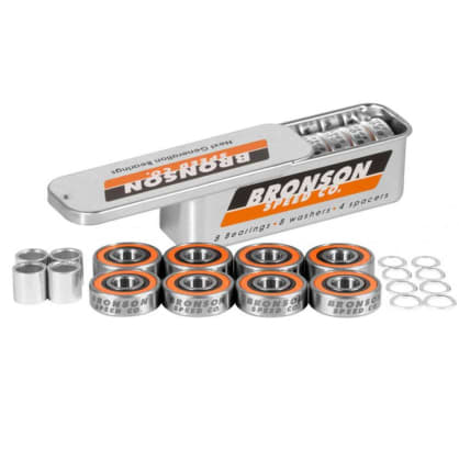 Bronson Speed Co. - Bearings G3 - (Pack of 8)