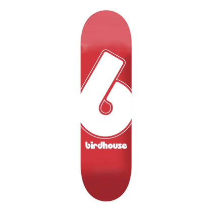 Birdhouse Red Giant B Logo Skateboard Deck - 8""