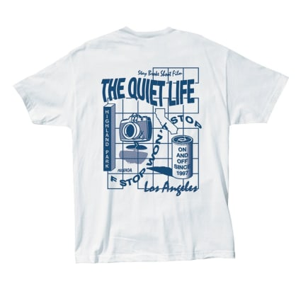 The Quiet Life - Photo Grid T - White