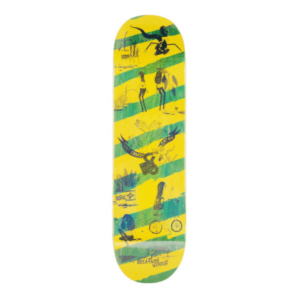 "Creature Skateboards - 8.6"" Snake Barf Deck"