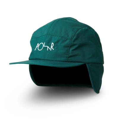 Polar Skate Co Flap Cap - Dark Green
