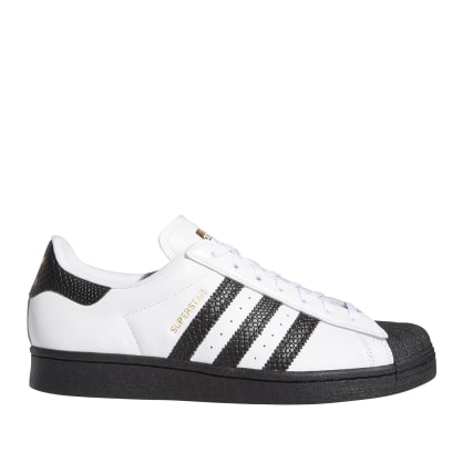 adidas Skateboarding Superstar ADV Shoes - FTWR White / Black / Gold