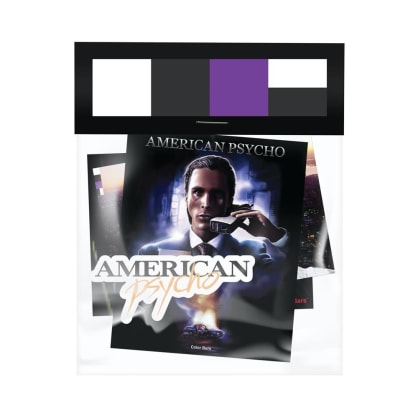 color bars x american psycho sticker pack