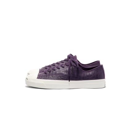 Converse CONS x Pop Trading Company JP Pro Ox Shoes - Dark Purple 'Dragonskin'