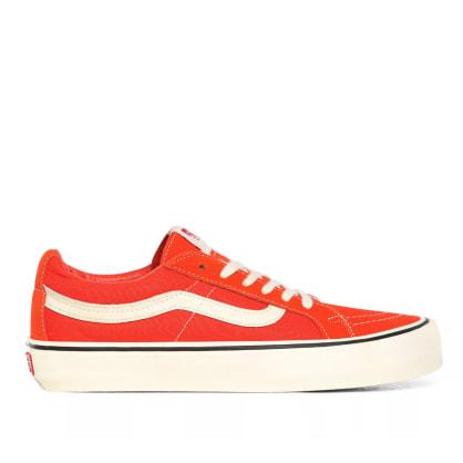 Vans Sk8-Low Reissue SF Skate Shoes - Tomato / Antique White