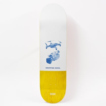 """Sour Dropping Soon Deck Yellow 8.375"""""""""""