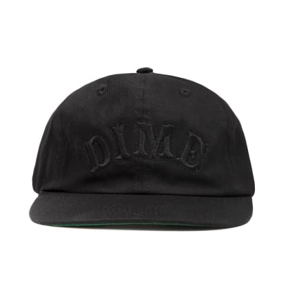 Dime Spell Out Snapback Cap - Black