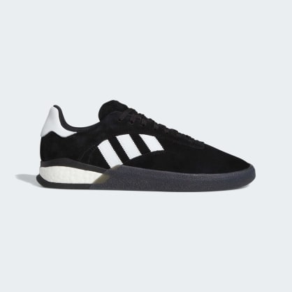 Adidas 3ST.004 Skateboard Shoes - Core Black/Cloud White/Core Black