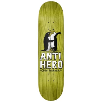 """Antihero Skateboards - Brian Anderson Only for Lovers 2 Deck 8.18"""" Wide"""