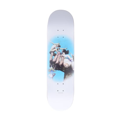 Quasi Girls White Skateboard Deck - 8.375""