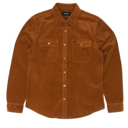 Brixton - Bowery L/S Flannel Shirt - Hide