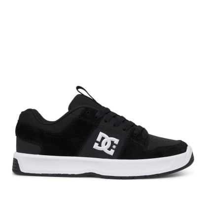 DC Lynx Zero Leather Skate Shoes - Black / White