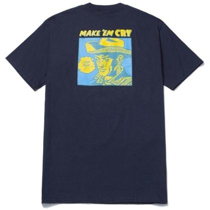 HUF Make Em Cry T-Shirt - French Navy