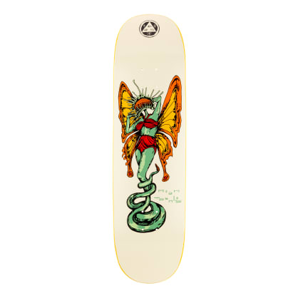 Welcome Skateboards Ryan Townley Venus on Enera Skateboard Deck Bone - 8.5""