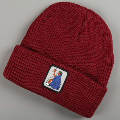PassPort 'Cold Out' Beanie (Burgundy)
